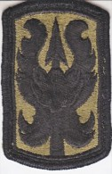 FULL SIZE PATCH    199  INF.  BRIGADE.  COMBAT  O.D. - Patches