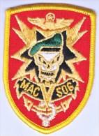 FULL SIZE PATCH    MAC-V -SOG  VIETNAM - Patches