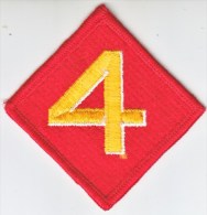 FULL SIZE PATCH    4 TH.  MARINE  DIV. - Patches