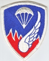 FULL SIZE PATCH    187 TH. REGIMENTAL  COMBAT  TEAM  2ND. DESIGN - Patches