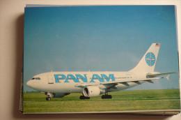 AIRBUS A 310  PAN AM   N822PA  EDITION PI   N°  606 - 1946-....: Moderne