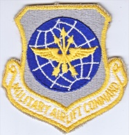 FULL SIZE PATCH    M.A.C.  MILITARY  AIRLIFT  COMMAND - Patches
