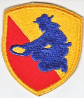 FULL SIZE PATCH    49 TH.  INFANTRY  DIV. - Patches