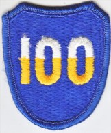 FULL SIZE PATCH    100 TH.  INFANTRY  DIV. - Patches