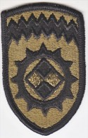 FULL SIZE PATCH    ALASKA  SUPPORT  COMMAND  COMBAT  O.G. - Patches