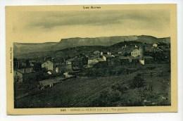 CPA  05  :  ASPRES SUR BUECH  Panorama  1934   A    VOIR  !!! - Other Municipalities