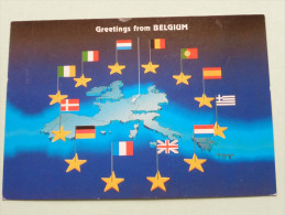 Greetings From BELGIUM Anno 19?? ( Zie Foto´s Voor Details ) !! - Non Classificati