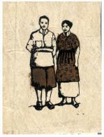 (615) Tonga Island - Fabric Greeting Card - Tonga