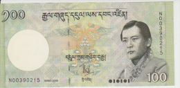 Bhutan 100 Ngultrum 2006 Pick 32 UNC - Bhoutan