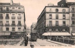 35 RENNES LA RUE DE BERLIN ANIMEE TRAMWAY CIRCULEE 1915 - Rennes