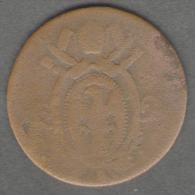 VATICANO / STATO PONTIFICIO 1/2 BAIOCCO 1824 LEONE XII - Vaticano