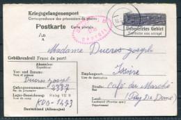 1942 Germany POW Camp : Stalag 7b Memmingen Bavaria Kriegsgefangenpost - France Censor Geprüft - Germany