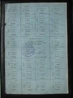 UKRAINE RUBLE CONTROL COUPON Mykolayiv 50 KARBOVANTSIV June 1991 - Ukraine