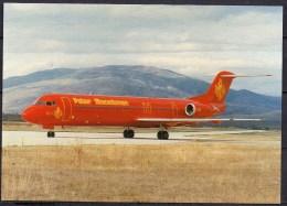 Carte Postale - Fokker 100 - Palair Macedonian - Neuve - 1946-....: Ere Moderne