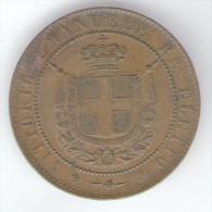 TOSCANA - GOVERNO Della TOSCANA - VITTORIO EMANUELE II - 5 CENTESIMI (1859) RE ELETTO - Monete Transitorie