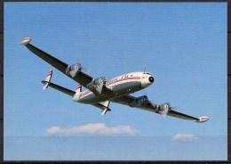 Carte Postale - Lockheed L-1409H - Save A Connie - Neuve - 1946-....: Ere Moderne