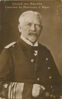 Chefs De Guerre - Allemagne Et Ses Alliés - Admiral Von Schroeder - Commandant La Flotte En Belgique- Carte Bel état - Weltkrieg 1914-18