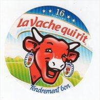Mai14    16 AA 207    étiquette   Vache Qui Rit   16 Portions Sans écriture Côté Gauche - Fromage
