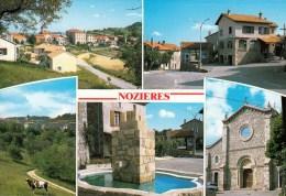 07 - Nozières : Multivues - CPM écrite - Autres Communes