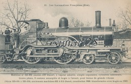 LES LOCOMOTIVES FRANCAISES (ETAT) - N° 11 - MACHINE N° 220-102 - Trains