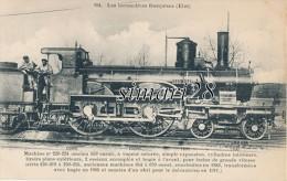 LES LOCOMOTIVES FRANCAISES (ETAT) - N° 194 - MACHINE N° 220-224 - Trains