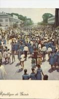 P3687 L Animation Dans Les Rues Pendant Les Fetes De L  Guinea  Front/back Image - Guinea Bissau