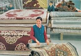 P3642 Carpet Factory  Ulan Bator Mongolia  Front/back Image - Mongolie