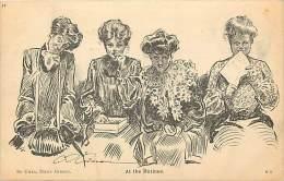 Pays Div- Canada -ref B949- Dessin Illustrateur - Femmes - At The Matinee - Carte Bon Etat  - - Canada