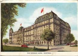 Pays Div- Canada -ref B948- The Windsor Hotel - Montreal - Carte Bon Etat  - - Canada