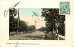 Pays Div- Canada -ref B937- Roslyn Road , Fort Rouge , Winnipeg , Man  Carte Bon Etat   - - Canada