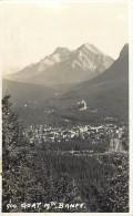 Pays Div- Canada -ref B936- Goat Mtn Banff - Carte Bon Etat   - - Canada