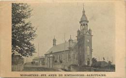 Pays Div- Canada -ref B926- Monastere -ste Anne De Ristigouche - Sanctuaire  - - Canada