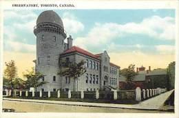 Pays Div- Canada -ref B921- Observatory , Toronto  - Carte Bon Etat  - - Canada