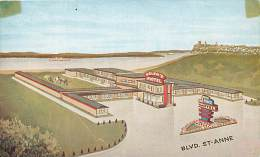 Pays Div- Canada -ref B919- Helen S Hotels Motels , Ste Anne S Boulevard -quebec -5-pq - - Canada