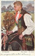 Pays Div- Pologne  -ref B895- Tableau Illustrateur - H Uziemblo - Le Fiancé  - - Pologne