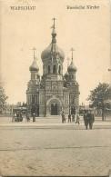 Pays Div- Pologne  -ref B894- Warschau - Russische Kirche - Eglise Russe -russie -russian Church -carte Bon Etat - - Pologne