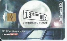 """Télécarte F931 """"13e RUE - Canalsat"""" Verso Blanc Avec Numérotation - 1998"""