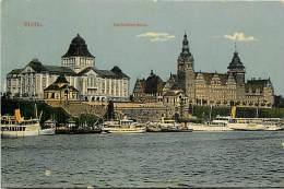Pays Div- Pologne-ref B883- Stettin - Carte Bon Etat  - - Pologne