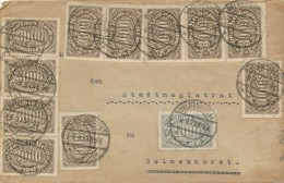 DELMENHORST - 9.9.23  - Ortsbrief Preisperiode: 1.09.-23.09.23  45 Tausend Mark Bis 50 Gr. - Big Letter: Dispatch 4,00 € - Briefe U. Dokumente