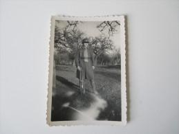 2. Weltkrieg. Orignalfoto Soldat Mit Gewehr / Ausrüstung (Frankreich / Marokko) - Krieg, Militär