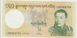 Bhutan 20 Ngultrum 2006 Pick 30 UNC - Bhoutan