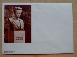 Postal Stationery Cover From Lithuania, USSR Occupation Period, Different Kaunas Vytautas Montvila - Lithuania