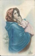V0012 - MADONNA DEL RIPOSO - FERRUZZI - F.P. SCRITTA MA NON VIAGGIATA - Peintures & Tableaux