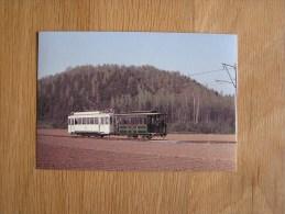 RESSAIX Motrice 9924 Avec Remorque 1936 Train Tram Tramways SNCV  Vicinaux - Tramways
