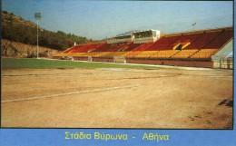 SPORT FOOTBALL   ***  GRECE  **  ATHENS  **VYRONAS STADIUM - Calcio