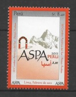 Peru (2011) Yv. 1995  /  Relations With Arab Countries - Peru