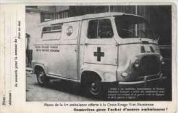 Vietnam-Indochine-Annam- Première Ambulance Offerte à La Croix Rouge Vietnamienne - Viêt-Nam