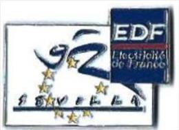 EG10 - EDF GDF - SEVILLA 92 - J.O. - Verso : SM - EDF GDF