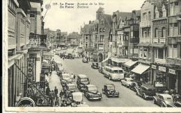 DE PANNE LA PANNE    184   Avenue De La Mer     21.07.1954 - De Panne