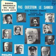 "B-O-F Sacha Argov / Hirsch  "" Pas Question Le Samedi "" - Filmmusik"